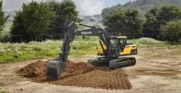 Locação de Escavadeira Hidráulica - PC