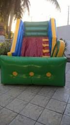 Vendo mini tobogã inflável