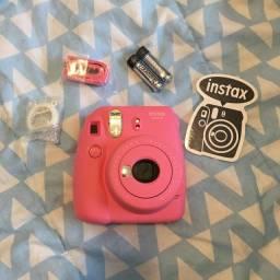 Instax Mini 9 Fujifilm Rosa Flamingo (nunca usada)
