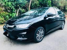 Honda City EXL 2019 Na Garantia de Fábrica + Top de linha