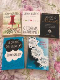 Coleção de livros Jhon Green