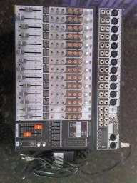 Mesa De Som Soundcraft Sx1602fx 16 canais USB