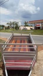 Carretinha reboque carga 2,0 MTS