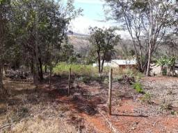 "Rancho ""apenas terreno"" 20x100 cercado frete a represa prox a Nova ponte-MG"
