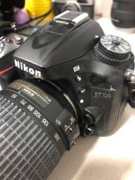 Câmera nikon + 2 lentes