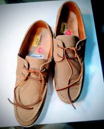 Sapato Masculino Dockside Woche Couro