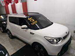 Soul 2015 Top + Teto Novo troco e financio aceito carro ou moto maior ou menor valor