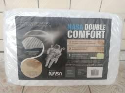 (Novo/Lacrado) Travesseiro Nasa Double Comfort