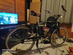 Banco para bicicleta retrô três molas vintage usado é original