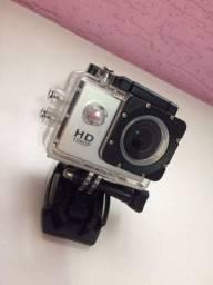 Câmera Sport 1080p Full Hd Prova Dágua