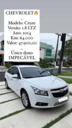 Chevrolet Cruze 1.8 LTZ Impecável/ * ou *