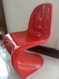 Cadeiras Panton Vermelha