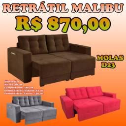 Super oferta sofás retráteis cores