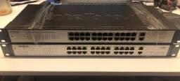 Switch 24 Portas + 2 Gigabit Ethernet Sg 2620 Qr