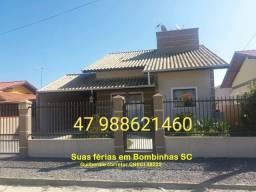 Excelente casa na Praia de Zimbros em Bombinhas SC