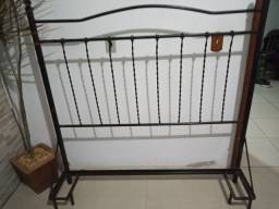 Cabeceira de ferro para cama box casal