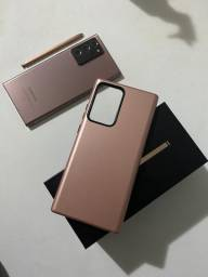 Galax Samsung Note 20 Ultra - zerado com capa e película