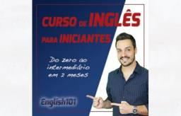 Curso de inglês/Aprenda do 0 ao intermediário em 2 meses