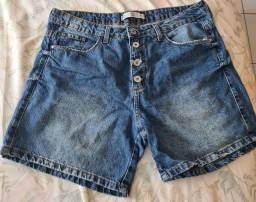 Short jeans feminino 42