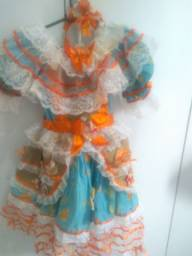 Vestido São João (USADO SÓ 1 VEZ)