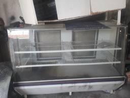 Balcao de vidro para mercearia seco torrando só hj 250 pila