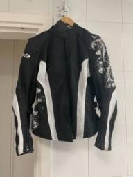 Jaqueta de moto feminina