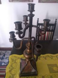 Candelabro de Antiquário em bronze