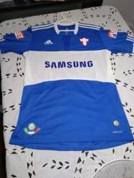 Vendo Camisa Azul do Palmeiras Original Savóia 2009