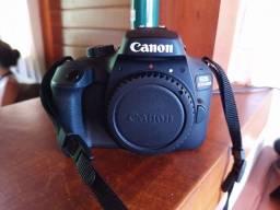 Câmera profissional Canon T100 nova quase sem uso