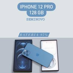 Iphone 12 Pro 128GB Azul (Semi-novo)
