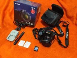 Câmera Canon PowerShot SX530 HS 16MP 200x Zoom Full HD Wi-Fi NFC