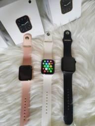 Relógio Smartwatch IWO W26 Tela Infinita 44mm Atende e Faz Ligações