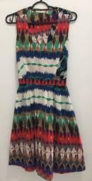 Vestido Estampa Étnica M - Vendas da Carol