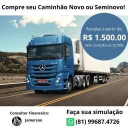 Compre seu Caminhão Novo e Seminovo