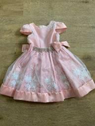 Vestido de Festa Rosé (tamanho 1)