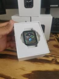 Smartwatch W46 Branco 44mm , Passamos Cartão.