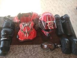 Kit Motocross com 6 itens