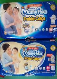 Kit de Fraldas Mamy Poko - Fralda Calça, Tam M