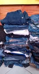 Vendo lote de roupas usadas