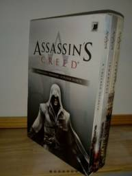 Box 3 Livros- Assassin's Creed 3 Vols. Novo