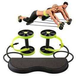 Kit para Treinos e Exercicios Fitness e Rodas Abdominais
