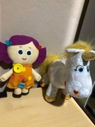 Dolly e botão de ouro toy story