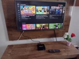 TV LG 32 POLEGADAS COM TV BOX