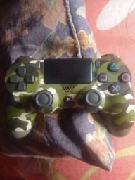 Controle PS4 original camuflado super novo