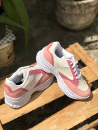 Tênis feminino rosê
