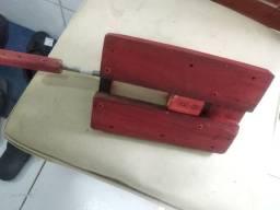 Morsa de madeira