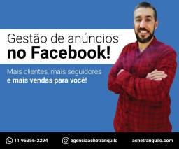 Gestão de Tráfego (Anúncios) no Facebook e Instagram!