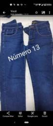 Vendo 7 calças Masculina N° 10, 13, 14 ...