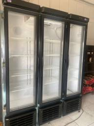 Expositor refrigerador 3 portas