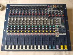 Mesa de som soundcraft novo tem conversa